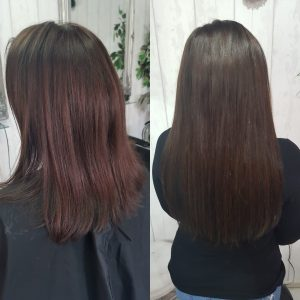 single micro beaded hair extensions